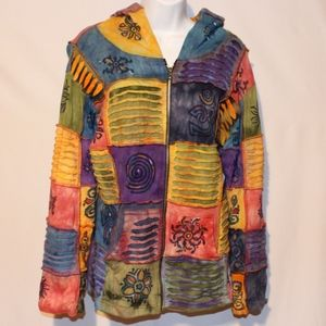 Rising international bohemian jacket medium
